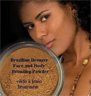 SMM Brazilian Bronzer Face and Body Bronzing Powder –  veido ir